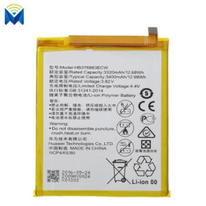 Cell Phone Replacement Battery for Huawei P9 Plus Hb376883ecw 3400mAh 3.82V Vie-Al10 Bateria