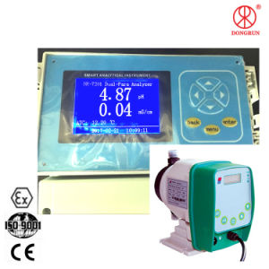 Hydroponics System Dual Parameter pH Ec Controller with Dosing Pump