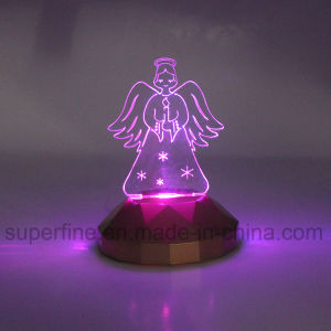 Battery Energy Customized Color Changing Luminary Creative Design Acrylic LED Light Gift pictures & photos