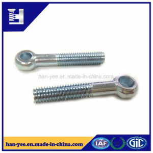 Circle Head Custom Eye Bolt with Partial Thread pictures & photos