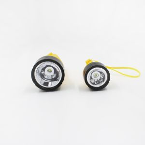 Two D1 IP67 Plastic Floating SMD LED Flashlight pictures & photos
