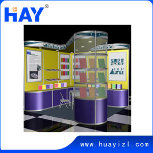 Trade Show Event Booth Display with Showcase