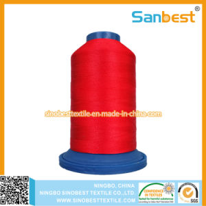 Colorful 100% Polyester Embroidery Thread, 150d/2 pictures & photos