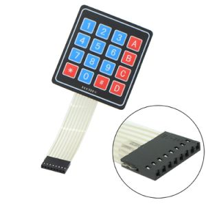 4*4 Matrix 16 Keys Nontactile Membrane Switch pictures & photos