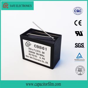 Cbb61 Sh Metallized Capacitor for Fan pictures & photos