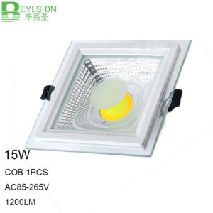15W Square High Power COB LED Panel Lights Lamps pictures & photos