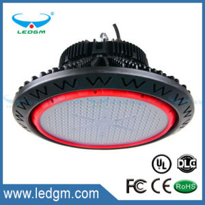 Industrial UFO Highbay Lighting Lamp IP65 Waterproof 130lm/W Dimmable 200W 150W 100W 80W pictures & photos
