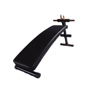 Hot Sale Home Fitness Equipment Super Sit up Bench with Resistance Bands