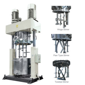 Double Planetary Mixer for Silicone Sealant Production pictures & photos