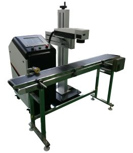 Fly Laser Marking Machine for Metal pictures & photos