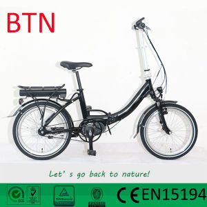 36V 250W Mini Electric Folding Bike with Torque Sensor