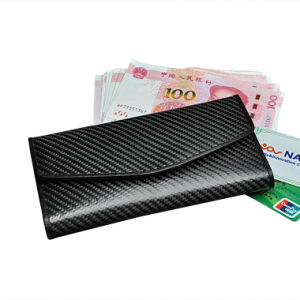 Eco-Friendly Passport Wallet and Leather Passport Holder Carbon Fiber Leather Wallet