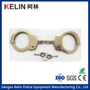 Hc-042W Carbon Steel Handcuff with Nickel Plated pictures & photos