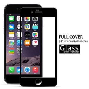 9h 2.5D Full Coverage Silk Printing Screen Protection for iPhone 6 Plus (5.5 inch) (0.2mm)