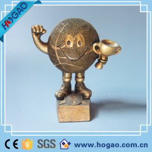 Polyresin Custom Bronze Decoration Warrior Swordman pictures & photos