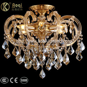 Golden Clip Crystal Pendant Light pictures & photos