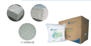 High Density Polyester Nylon Composed Knitt Cleaning Wiper pictures & photos
