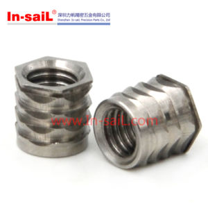 Stainless Steel Threaded Insert Nut in China pictures & photos