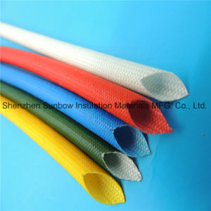High Voltage and Heat Protection Electric Wire Fiberglass Sleevings Coated Silicone Resin pictures & photos