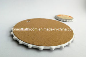 Round Shape Ceramic Plate Cup Mat for Bar/Coffee Shops pictures & photos