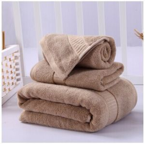 High Quality Luxury Bamboo Bath Towel Set 550g