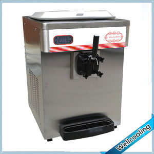 Stainless Steel Single Flavor Small Frozen Yogurt Machine pictures & photos