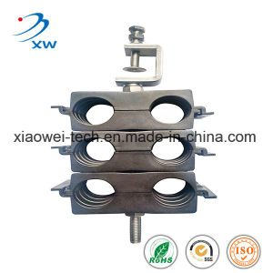 Triple Stack Card Feeder Clamp for RF Coaxial Cable