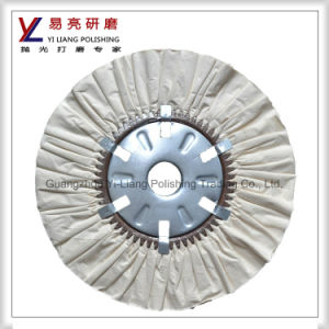 Air Flow Wheel for Stainless Steel Mirror Finishing