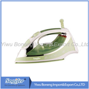 Electric Travelling Steam Iron Sf 240-793 Electric Iron with Ceramic Soleplate (Green)