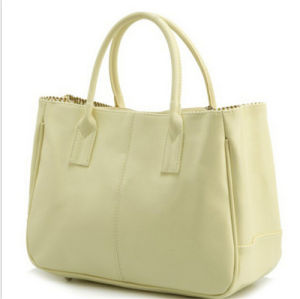 Fashional High Quality Lady PU Leather Handbag pictures & photos