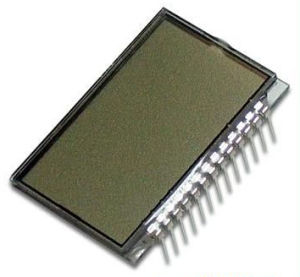 Tn/Stn LCD Glass with Single Pin Feet Connecter