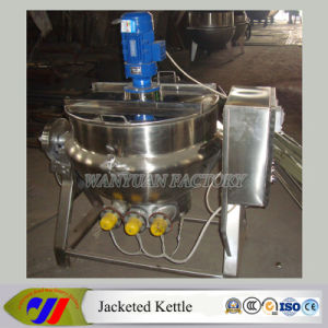 Tilting Jacketed Kettle Electric Heating Jacketed Cooking Pot (DG50~DG600) pictures & photos