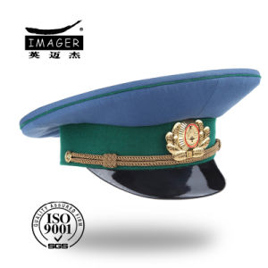 Africa Military Cap with Green Marching Band Wholesale pictures & photos