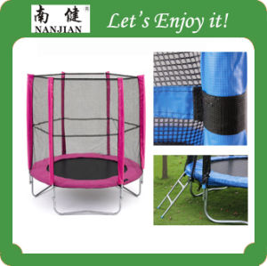 2015 New Style Trampoline with Safety Net pictures & photos