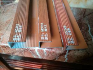 Building Materials of 15mm Flooring End U Profiles pictures & photos