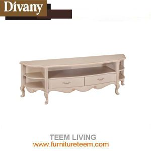 Modern Luxury Wooden and Glass Material TV Stand Cabinet pictures & photos