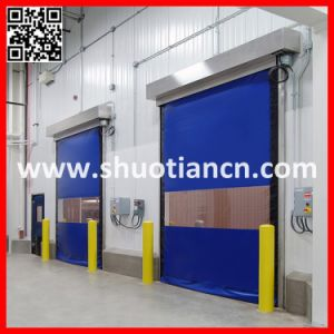 High Quality Automatic PVC Rapid Doors (ST-001) pictures & photos