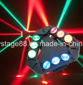 2017 New 9X10W Mini LED Spider Moving Head Beam Light pictures & photos