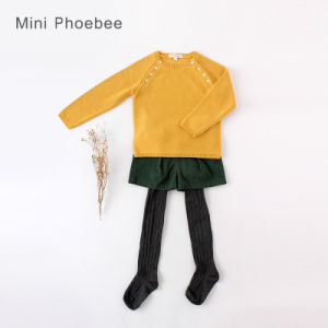 Wholesale Knitting/Knitted Clothing Children Garment Girls Clothes pictures & photos