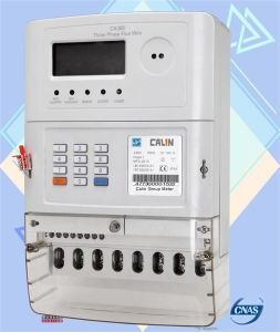 Dual Source Switch Smart Three Phase Keypad Prepaid/Prepayment Energy Meter pictures & photos