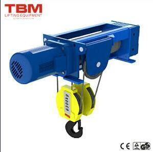Foot-Mounted Hoist (4/1 Rope Reeving) , Construction Hoist, Wire Rope Hoist, Electric Wire Rope Hoist pictures & photos