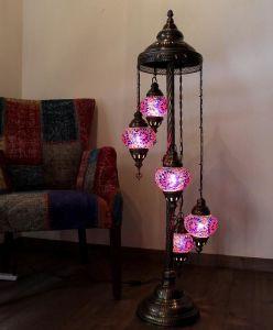 China New Designed Istanbul Handicraft Mosaic Turkish Floor Lamps ...