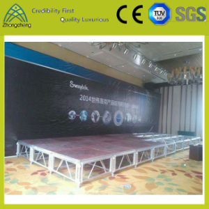Indoor Concert Event Activity Portable Plywood Aluminum 1.22m*1.22m Stage pictures & photos