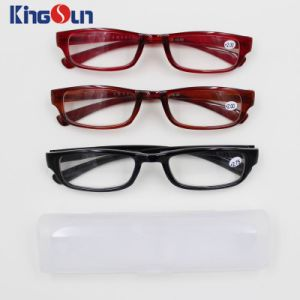 Injection Fashion Single Color Reading Glasses pictures & photos