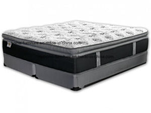 Fireproof Pillow Top Spring Mattress for USA Market