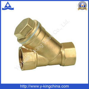 Brass Y Type Female Strainer (YD-3005) pictures & photos
