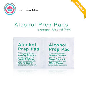 Disposable Single Piece Cellphone Cleaning Alcohol Pad