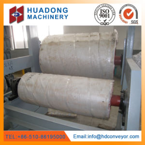 Transmission Part Steel Tension Drum Pulley for Handling Equipment pictures & photos