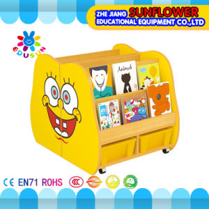 Wooden Bookshelf, Kids Kindergarten Furniture (XYH12141-1)