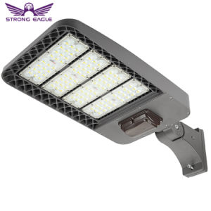 LED Parking Lot Light 300W Slip Fitter Mount Shoebox Pole Street Light 5000K ETL